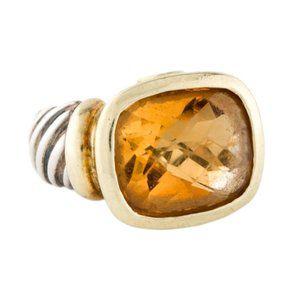 David Yurman Large Yellow Noblesse Ring